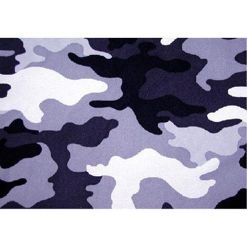 """Stealth Fanatic"" Camo Board Shorts - Regular Rise / 5"" Inseam (Blue Smoke) - Board Shorts World"