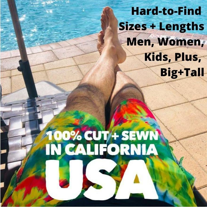 America's Favorite Board Shorts - Handmade in California USA