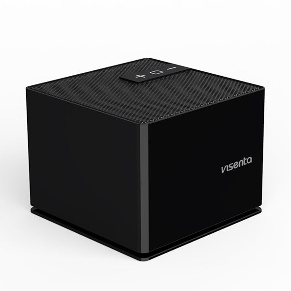 Visenta Mo4 Touch Control Portable Bluetooth 4.0 Speaker, Built-in Microphone,Compatible with Smartphone,Laptop,Tablet & Pc(Black)