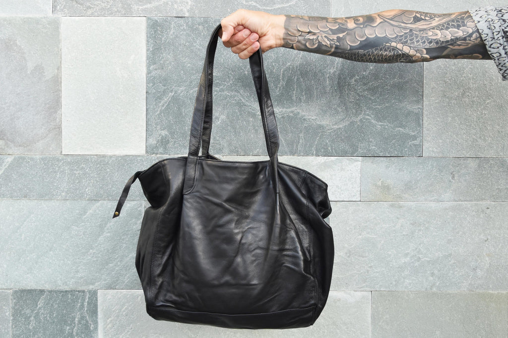 SHOULDER BAG - BLACK MEL