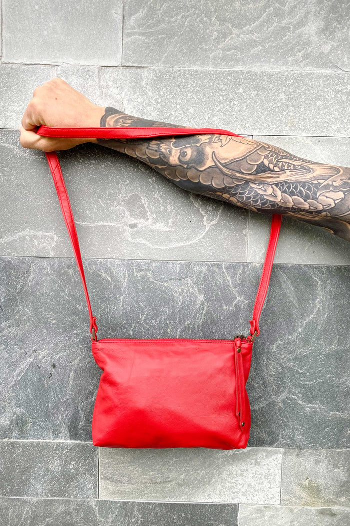 HANDBAG - RED MIMI