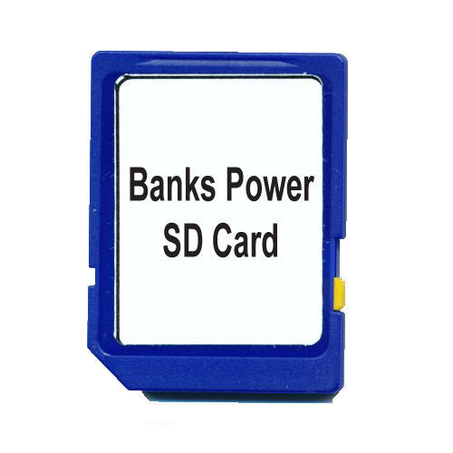 Banks PowerPDA Replacement SD Card - SpeedBrake Chevy Dodge Ford - Sold from USA