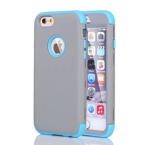 Blue Extreme Armor Case for Apple iPhone 6 & 6s - Rugged Heavy Duty Cover USA