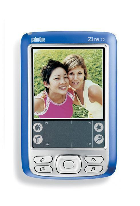 Palm Zire 72 PDA with NEW BATTERY & NEW SCREEN + Warranty - Handheld Organizer