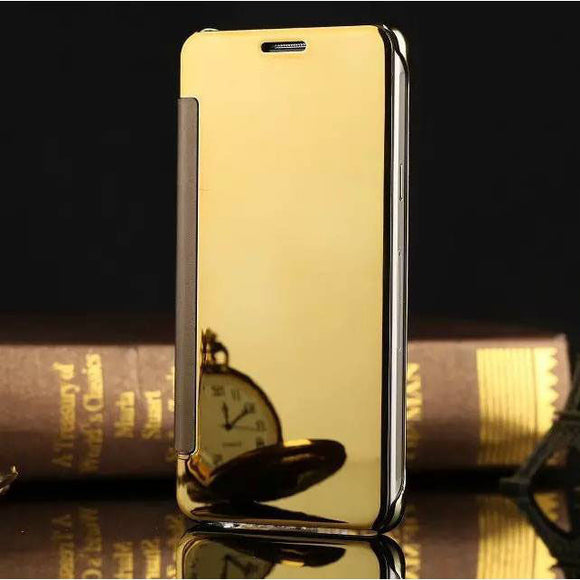 Gold Metal Flip Case for Samsung Galaxy J5 - New Shockproof Hard Armor Cover USA