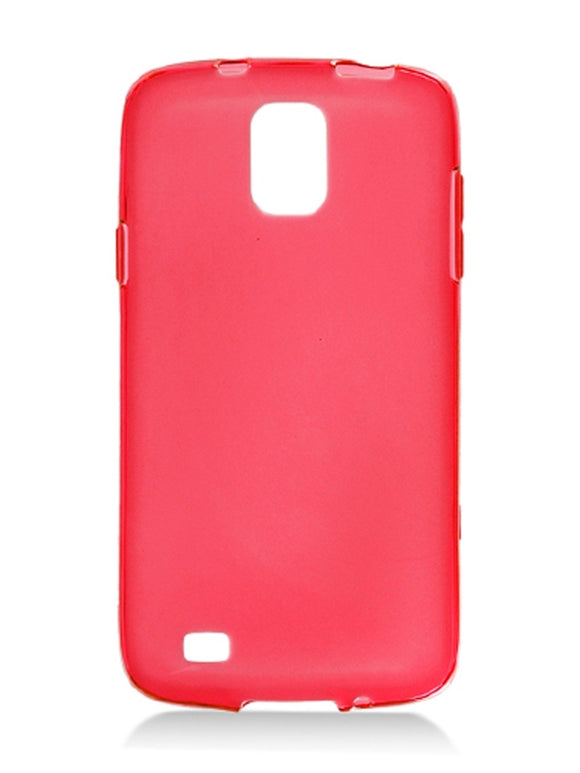 Red Silicone Case for Samsung Galaxy S4 Active i537 & I9295 - Soft TPU Gel USA