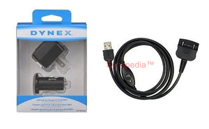 Sync Cable + Car + USB Wall Charger for Palm m130 m500 m505 m515 & i705 PDA - US