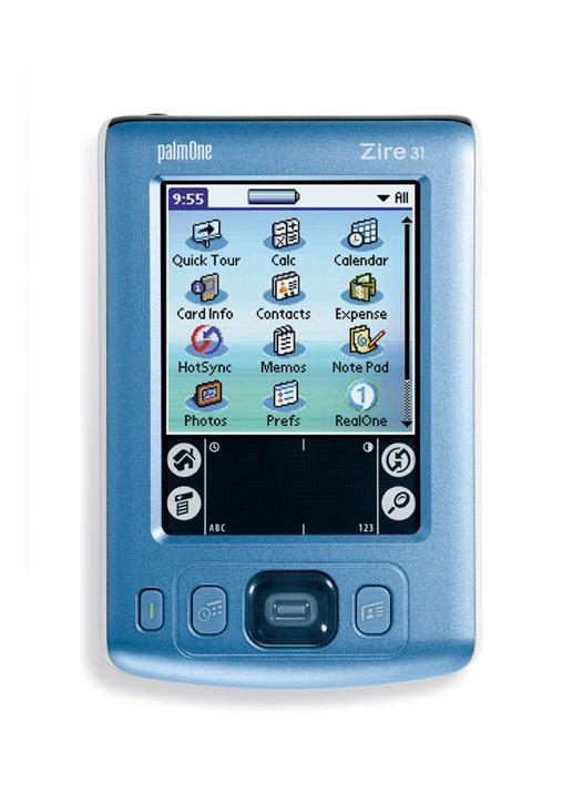 Palm Zire 31 PDA with NEW BATTERY & NEW SCREEN + Warranty – Handheld Organizer