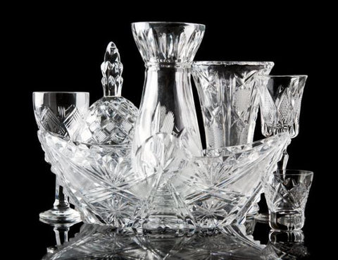 Collectibles: Glassware - Antique Crystal