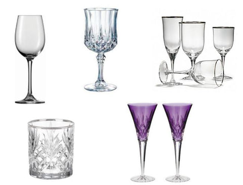 Dinnerware Replacements: Glassware
