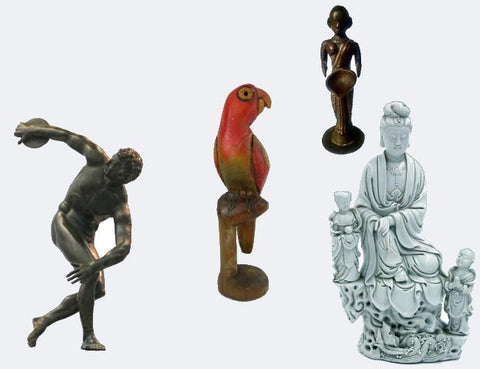 Home Decor: Sculptures & Statues
