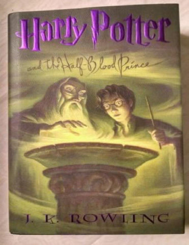 Harry Potter and the Half-Blood Prince 6 by J. K. Rowling 1st/1st July 2005