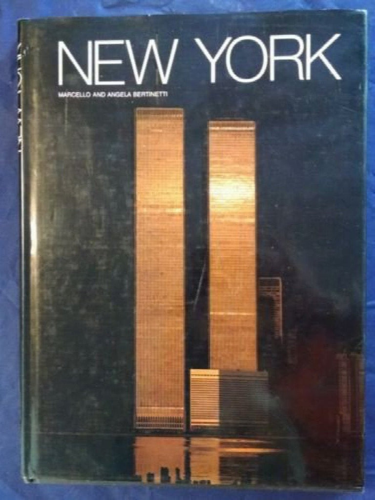New York by Marcello Bertinetti (1988, Hardcover)