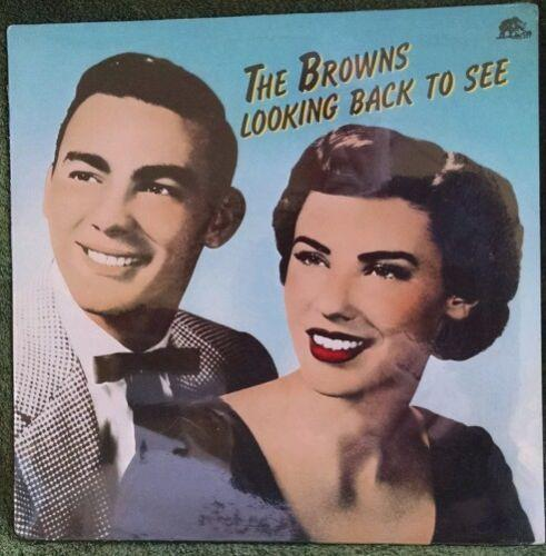 THE BROWNS Looking Back To See NEW SEALED LP Record Bear Family BFX 15190THE