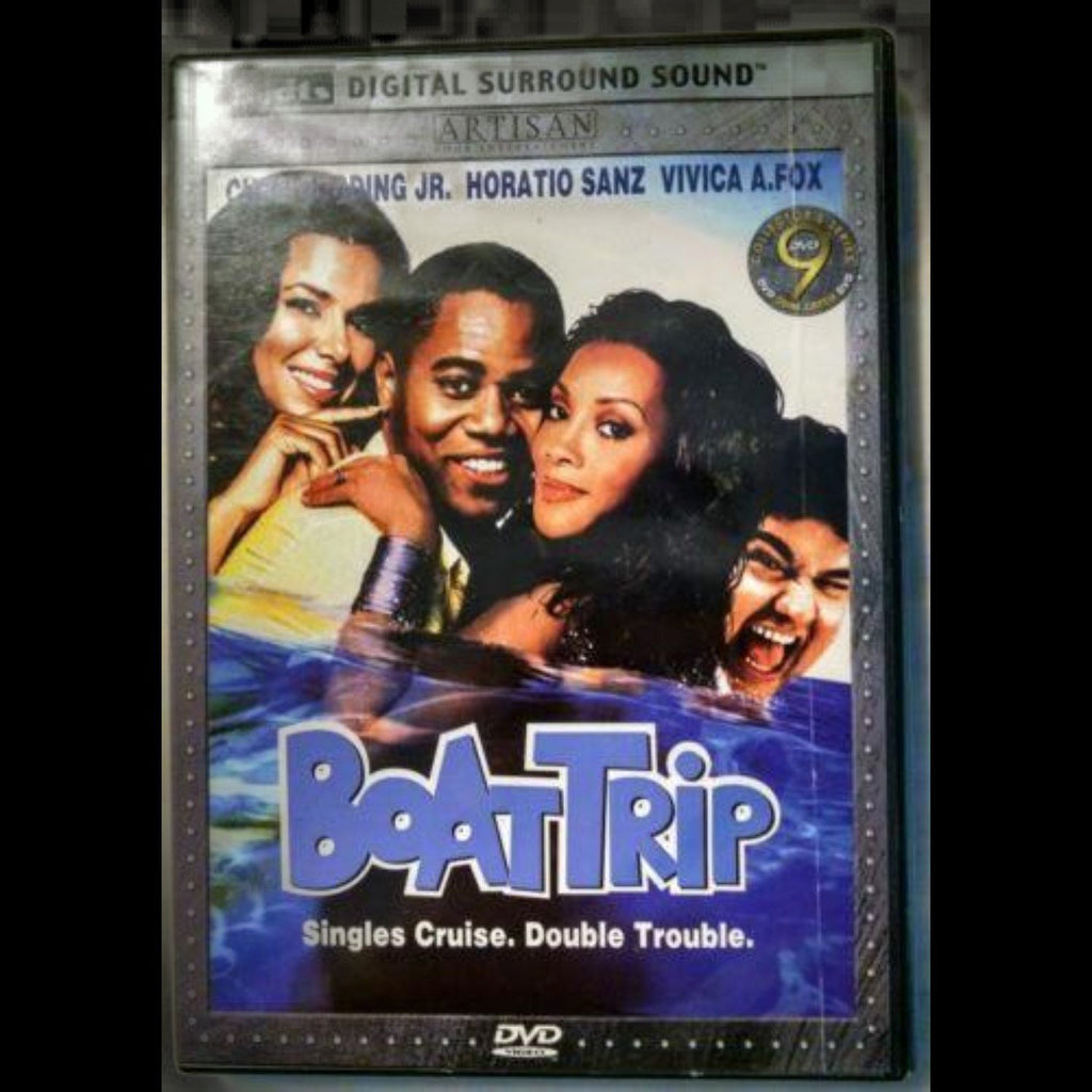 Boat Trip DVD Cuba Gooding Jr., Horatio Sanz, Roselyn Sanchez, Vivica A. Fox - Gramma-zon
