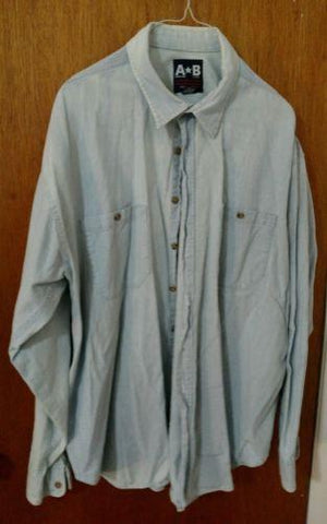 American Blue Men's Dress Shirt - Size XL - Big & Tall