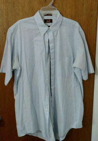 Arnie Men's Short Sleeve Shirt - Size 17-1/2 - Big & Tall