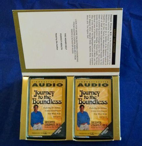 A Journey to the Boundless Deepak Chopra Cassette Set Audio Nightingale Conant