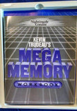 KEVIN TRUDEAU'S MEGA MEMORY COMPLETE PROGRAM 9 CASSETTES, WORKBOOK,POCKET GUIDE