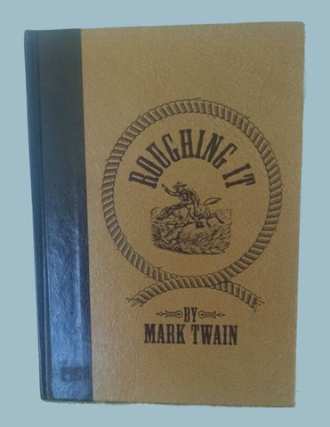 Roughing It by Mark Twain Faux Leather Bound Hardcover Reader's Digest 1994 NEW