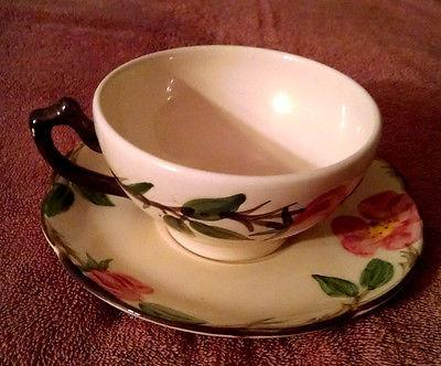 Franciscan DESERT ROSE Cups & Saucers 1971 to 1984 Mark California USA