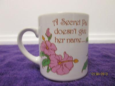 VINTAGE Abbey Press St Meinrad, Indiana A Secret Pal Doesn't Give Her Name Mug