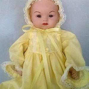 "Armand Marsielle 14"" DREAM BABY~AM CAROLYN POPLE 1985~Bye Lo Baby Reproduction"