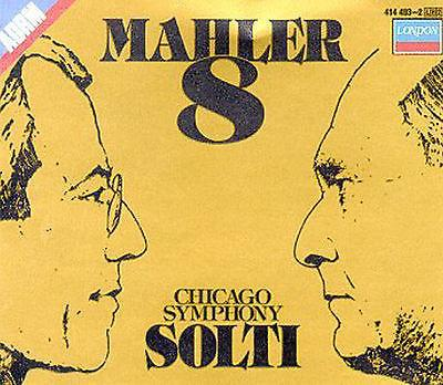 CD Mahler: Symphony No. 8 (CD, Jun-1985, 2 Discs, London)