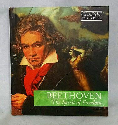 "CD Classic Composers Series Book with BEETHOVEN ""The Spirit of Freedom"" CD"