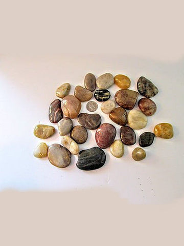 2 lbs Tumbled Natural Gem Stone Mix Rocks Decor LAST ONE! - Gramma-zon