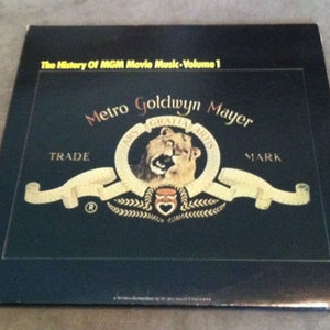 *History Of MGM Movie Music - Vol. 1 - 2 LP Set (Stereo - 33 RPM)