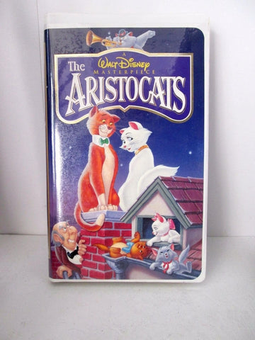 The Aristocats (VHS, 1996) Walt Disney Masterpiece Collection. VHS # 2529