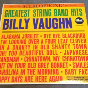 *Billy Vaughn - Greatest String Band Hits (Stereo LP - 33 RPM)