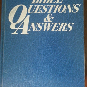 Bible Questions & Answers, Over 6000 Questions