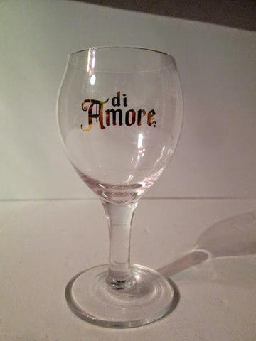 A set of 4 Di Amore STEMMED LIQUEUR/CORDIAL 24 ct Gold Crystal Promotional Glass