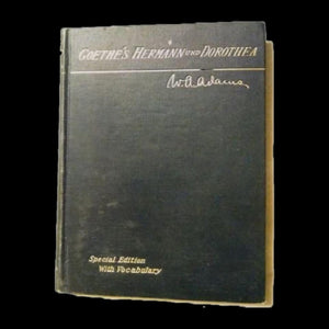 1904 Goethe's Hermann und Dorothea by Waterman Thomas Hewett Special Edition