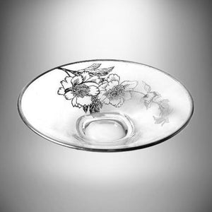 "Silver City 7.5"" Sterling Silver Overlay 3 Toe Footed Bon Bon Dish SCI1 pattern"