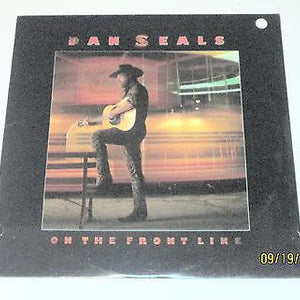 *FACTORY SEALED/BRAND NEW DAN SEALS - 'On The Front Line' - (1986 LP) - EMI