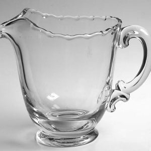 *Fostoria Glass CENTURY Pattern 48 Ounce Ice Lip Pitcher (Pressed)