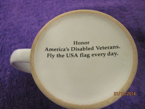 Disabled American Veterans Mug DVNF L Chenault Sponsor 2007 Freedom Is Not Free - Gramma-zon