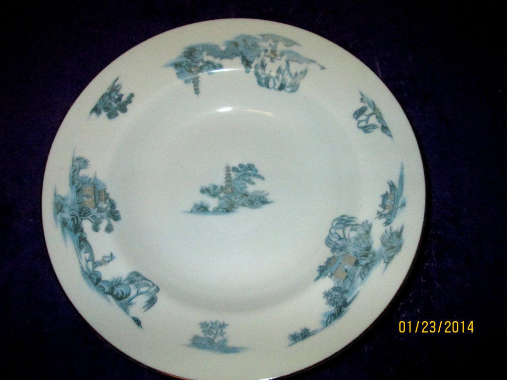 Vintage NARUMI CHINA JAPAN MING RIMMED SOUP BOWL