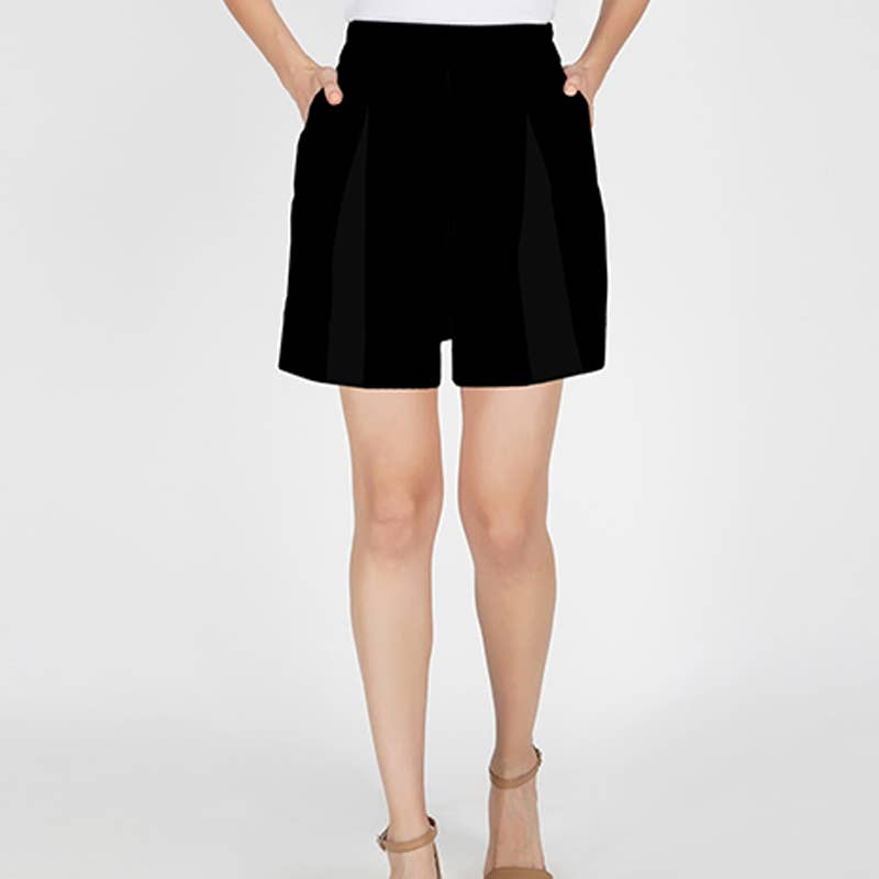 Benares - Black Luna Shorts