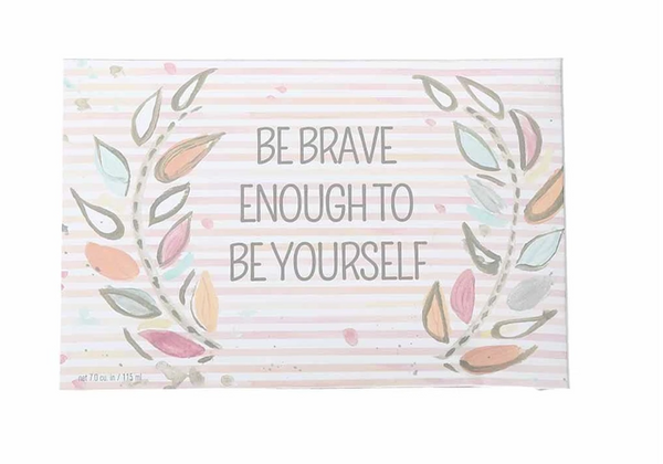 "Bridgewater Candles-""Be Brave"" Inspirational Quote Sweet Grace Scented Sachet"