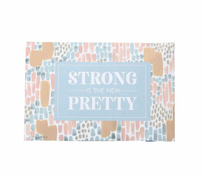 "Bridgewater Candle Company- ""Strong"" Inspirational Quote Sweet Grace Scented Sachet"