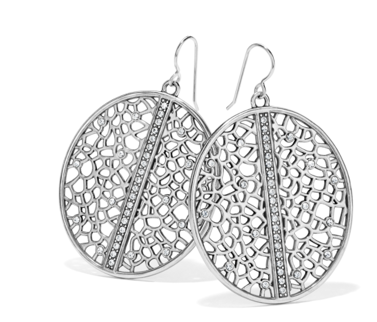 Brighton- Fiji Sparkle French Wire Earrings Silver