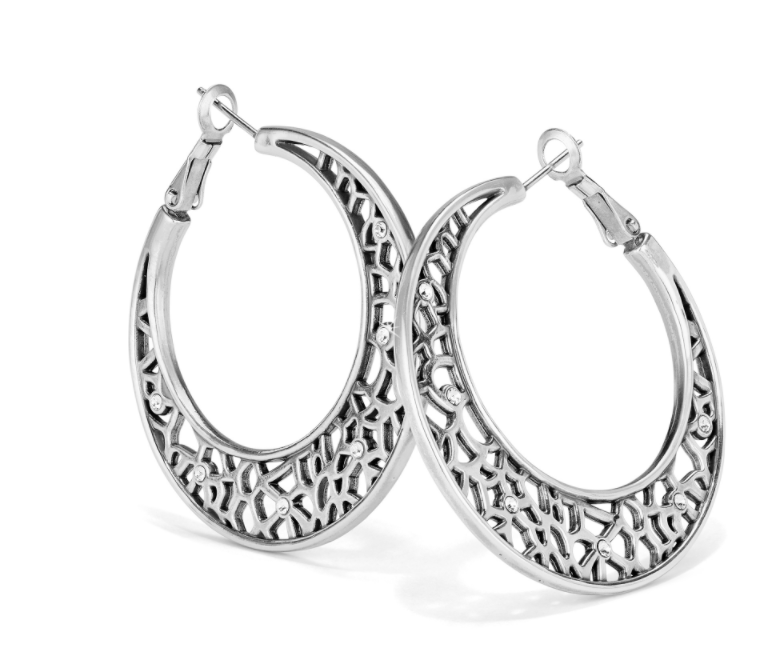 Brighton- Fiji Sparkle Hoop Earrings