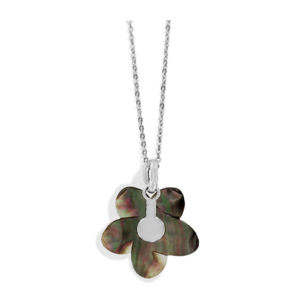 Brighton- Neptune's Rings Shell Flower Necklace