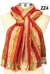 Fashion Lion- Silk Blend Lycra Scarves
