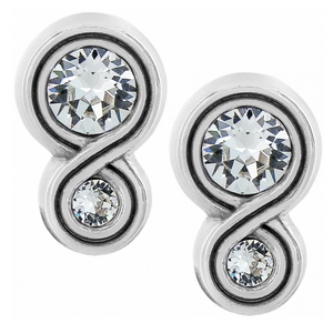 Brighton- Infinity Sparkle Post Earrings