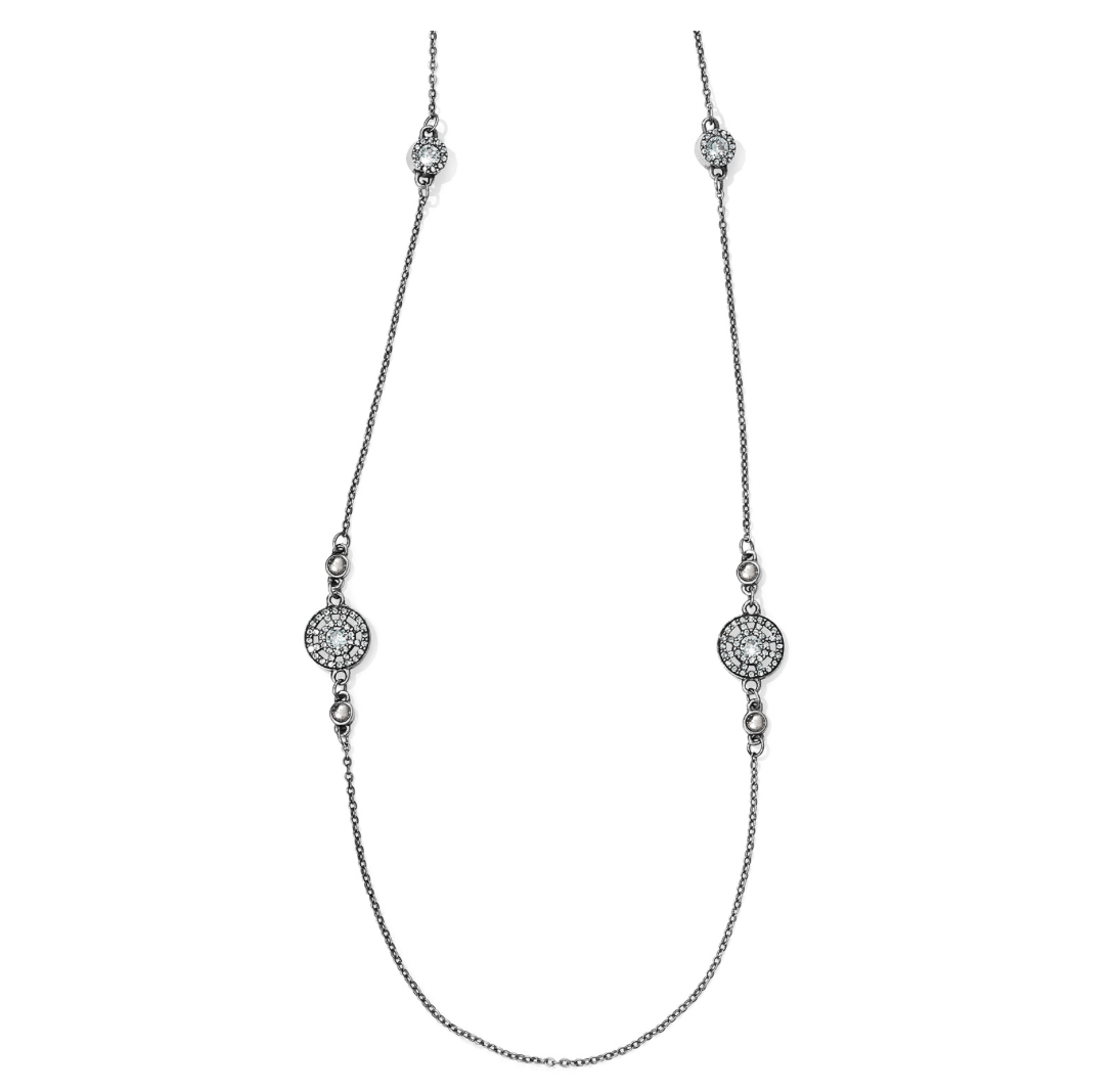 Brighton- Illumina Long Necklace in Silver